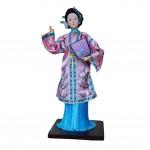 Creative Crafts Chinese Figures Handmade Chinese Doll Silk Figurine- Li Wan