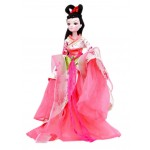 China Doll in Ancient Costume Begonia Fairy BJD Doll for Girls Gift
