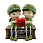 Creative and Unique Dolls/Toy Set Figure Decoration, The Red Army Couples