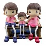 Creative and Unique Dolls/Toy Set Figure Decoration, Fashionable Family