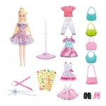 DIY Fashion Girls Doll Toy Girls Collection Rarity Doll Giftset Dress Up Set