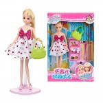 Fashion Girls Doll Toy Girls Collection Rarity Doll Giftset Dress Up Set(A010A)