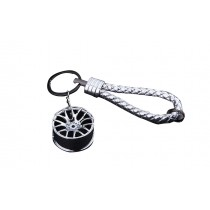 Online Fashion Key Ring Personalized Silver Color Car Key Chain