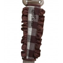 [Plaid Coffee] 1 Pair Car Seat Belt Shoulder Pads Seat Belt Pads
