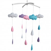 [Rain] Crib Mobile Crib Hanging Bell Musical Toy for Infant Bed