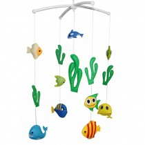 [Under the Sea] Rotate Bed Bell for Baby Musical Crib Mobile