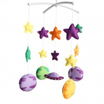 [The vast universe] Exquisite Crib Decoration - Rotatable Crib Musical Mobile