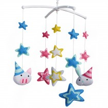 [Shiny Stars] Baby Creative Gift, Infants' Musical Mobile, [Fantastic World]