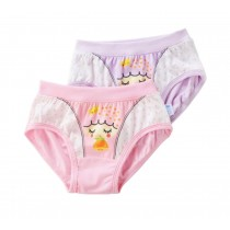 Little Girls Comfortable Panties Kids Fashion Underwear [Shy Girl] 2PCS