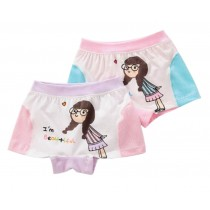 [Beautiful Girl] 2PCS Little Girls Soft Cotton Panties