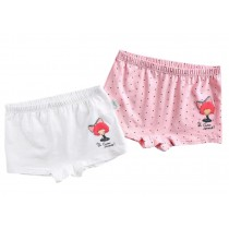1-2Y, 2PCS Soft Cotton Panties Comfortable Underwears