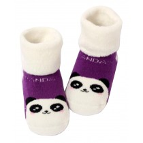 Winter [Panda] Thick Infant Toddler Cotton Socks for Baby, 1-3 Years, 2 Pairs