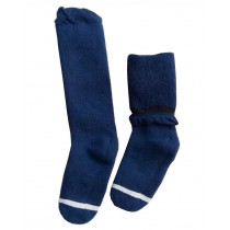 Winter Baby Knee High Stockings Tube Socks for Children Navy