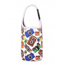 Lovely Baby Bottle Tote Bag Food Jar Tote Bag Lunch Box Bag Camera