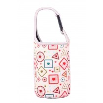 Lovely Baby Bottle Tote Bag Food Jar Tote Bag Lunch Box Bag Geometry