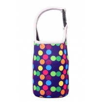 Lovely Baby Bottle Tote Bag Food Jar Tote Bag Lunch Box Bag Dot