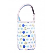 Lovely Baby Bottle Tote Bag Food Jar Tote Bag Lunch Box Bag Fish