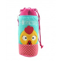 Insulated Baby/Kids Bottle Tote Bag Portable Fashion Feeding Bottle Bag Pink