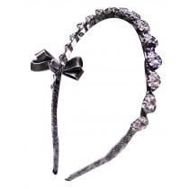 Diamond Bowknot Hairpin Hair Band Korea Headwear B