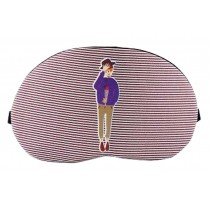 Creative Cartoon Eye Mask Funny Soft Eyeshade Ice Compress Eye Mask Pink