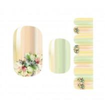 Set of 5 Nail Stickers Nail Decorations DIY Nail Art Flower