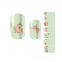 [Flower] Set of 5 Pretty DIY Nail Art Stickers Nail Decals
