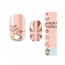 Set of 5 Pretty Lovely DIY Nail Art Stickers Nail Decals