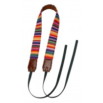 Personality Fashion Folk Customs Camera Straps Stripe SLR Straps B