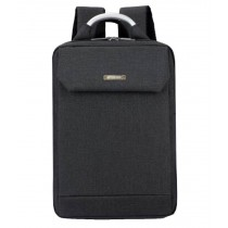 Simple Style Laptop Backpack Business Backpack Travel Bag for Man Black