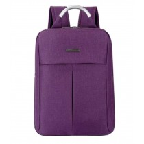 Fashion Laptop Backpack Business Backpack Travel Bag Purple