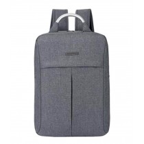 Fashion Laptop Backpack Business Backpack Travel Bag Gray