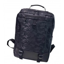 Stylish Camouflage Laptop Backpack Sport Backpack Travel Bag Black