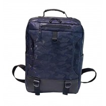 Stylish Camouflage Laptop Backpack Sport Backpack Travel Bag Blue