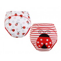 [Beetle] Baby Toilet Training Pants Nappy Underwear Cloth Diaper 15.4-26.4Lbs