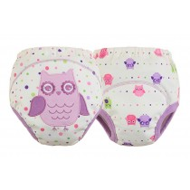 [Owl] Baby Toilet Training Pants Nappy Underwear Cloth Diaper 13.2-22Lbs