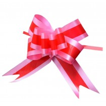 [Red] Home Decoration Pull Flower Ribbons 60PCS Gift Wrap Ribbons