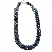 [Ink Blue]Fashion Clothing Accessories New Pretty Women Necklace