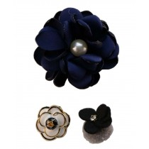 [Flower Navy] A Set of Women Brooches Corsages Collar Decorative Brooch Pins