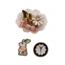 [Rabbit] A Set of Lovely Women Brooches Corsages Collar Brooch