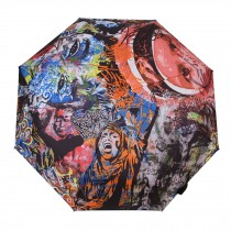 Creative Graffiti Folding Anti-UV Sun/Rain Umbrella, Street Graffiti Style