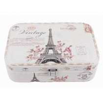 [ Eiffel Tower ] Jewelry Box Jewelry Organizer Portable Ornaments Storage Case