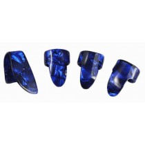4pcs Guitar Picks Practical Guitar Equipment for Right Hand Protect Fingers