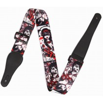 Practical Guitar Equipment Guitar Strap Shoulder Strap [Beautiful Girl]