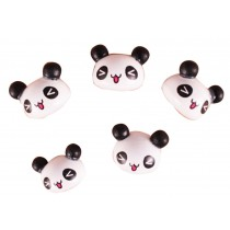 Creative Office Item/ Cute Panda Series Pushpins, 10 Piece, Random Style