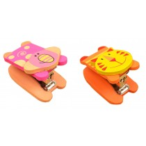 Set Of 2 Cute Animal Mini Portable Desktop Stapler Office Stapler A