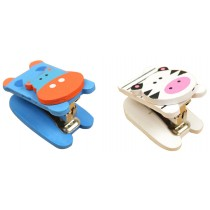 Set Of 2 Cute Animal Mini Portable Desktop Stapler Office Stapler B