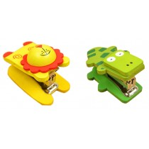 Set Of 2 Cute Animal Mini Portable Desktop Stapler Office Stapler C
