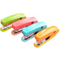 Set Of 1 Creative Mini Portable Desktop Stapler Office Stapler Random Color A