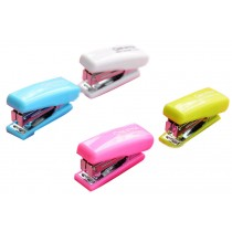 Set Of 1 Creative Mini Portable Desktop Stapler Office Stapler Random Color B