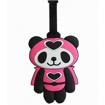 Cartoon Panda Travel Accessories Travelling Luggage Tag/ID Holder Cute Tag
